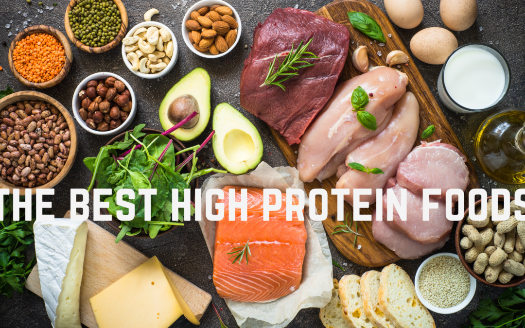 What are the best high protein foods?